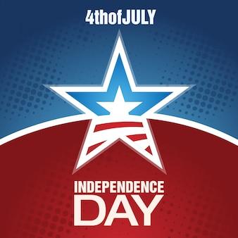 Modern independence day design