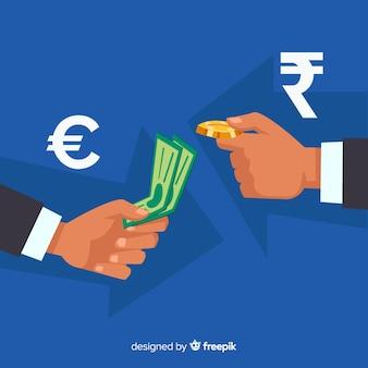 Modern indian rupee composition