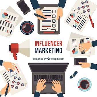 Современная маркетинговая концепция влияния