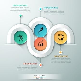 Современный инфографический вариант баннера