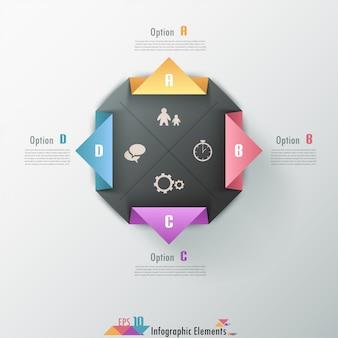 Современные инфографические варианты баннеров