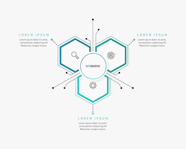 Современный шаблон вариантов номера инфографики. иллюстрация. может использоваться для макета рабочего процесса, диаграммы, вариантов бизнес-шагов, баннера, веб-дизайна.