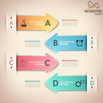 Современная инфографика варианты баннеров