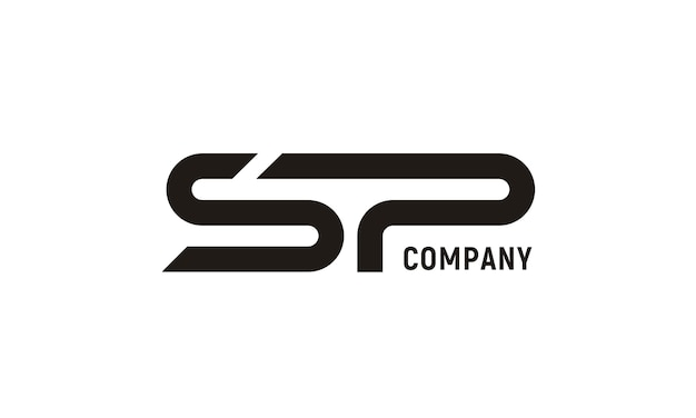 Modern initial sp 로고