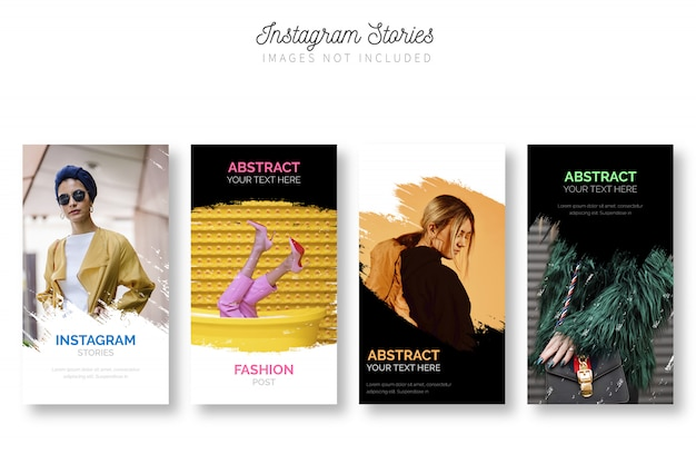 Modern instagram stories pack template