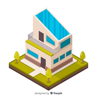 현대 아이소 메트릭 오피스 빌딩