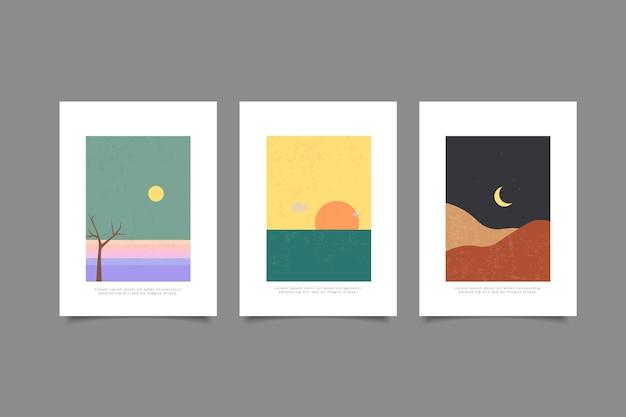 현대 풍경 표지 컬렉션