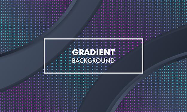 Modern landscape gradient background neon light