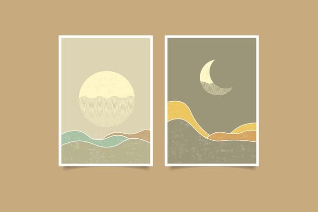 현대 풍경 빈티지 컬렉션