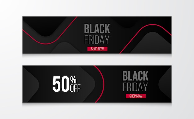 Modern layout for black friday sale offer discount banner template with geometrical and line template.