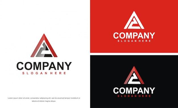 Modern letter ac logo design template