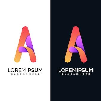 現代文字rロゴデザイン