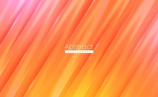 未来的なネオンライトと輝く表面を持つ現代の光の抽象的な技術の背景