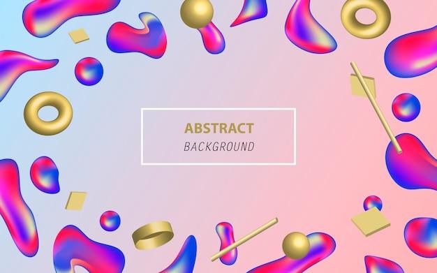 Modern liquid abstract background.