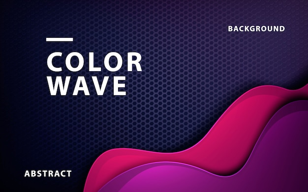 Modern liquid color background