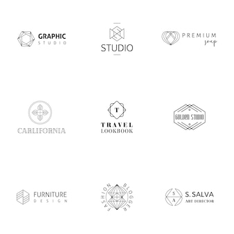 Modern logo collection