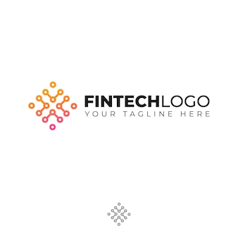 Modern logo for finance