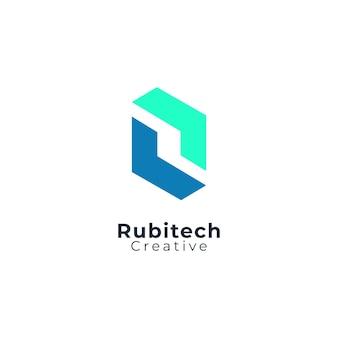 Современный логотип буква r идеально подходит для компании