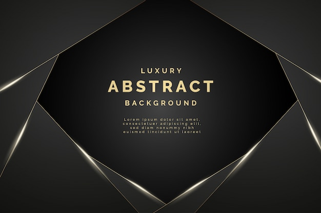 Modern luxury abstract background with elegant shapes