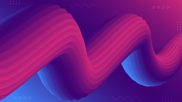 Modern luxury abstract fluid gradient background
