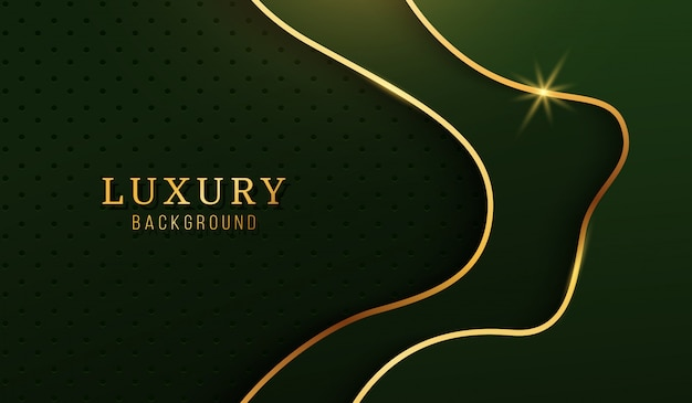 Modern luxury gold background, abstract design elements