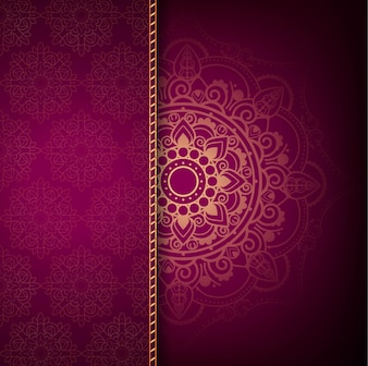Modern luxury mandala background
