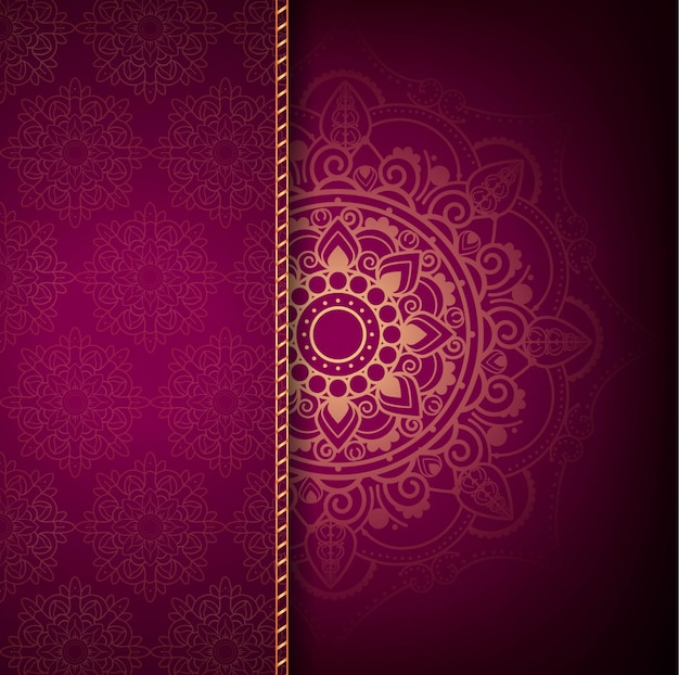 Modern Luxury Mandala Background