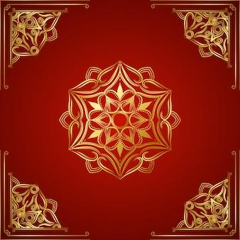 Modern luxury ornamental dacorative  mandala background
