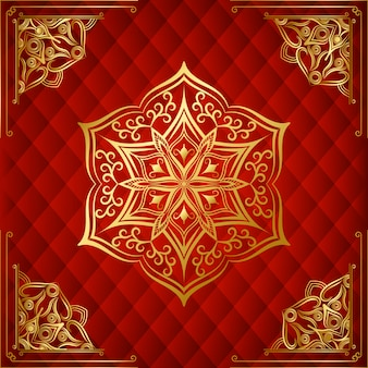 Modern luxury ornamental mandala background