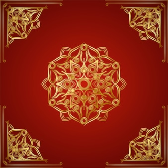 Modern luxury ornamental mandala background