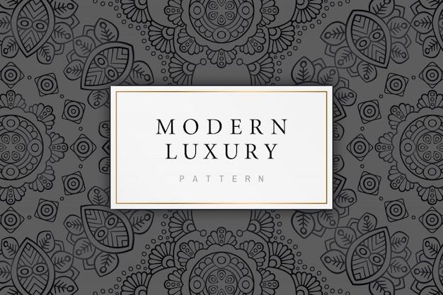 インドの飾りとモダンで豪華なパターン