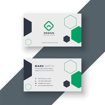 Modern medical doctor business card