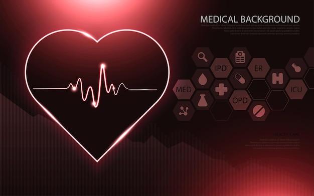 Современные медицинские технологии и концепция инноваций. шаблон здравоохранения медицинские инновации концепции фон дизайн.