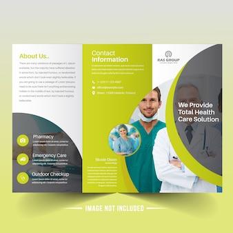 Modern Medical Trifold Brochure