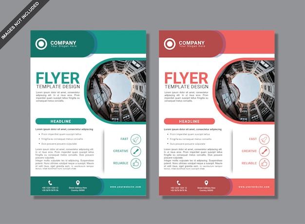 Modern minimal brochure template