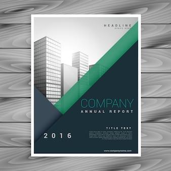 Modern minimal business brochure