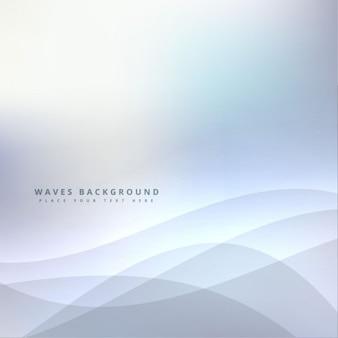Modern minimalistic wavy background