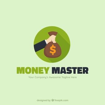 Modern money logo concept