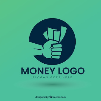 Modern money logo design