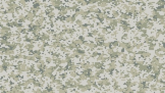 Modern multi-scale camouflage pattern in digital pixels