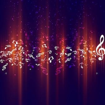 Modern music background