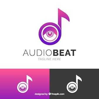 Modern music logo