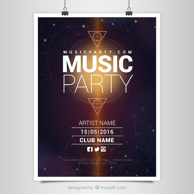 poster vectors photos and psd files free download rh freepik com vector poster free download vector poster psd free