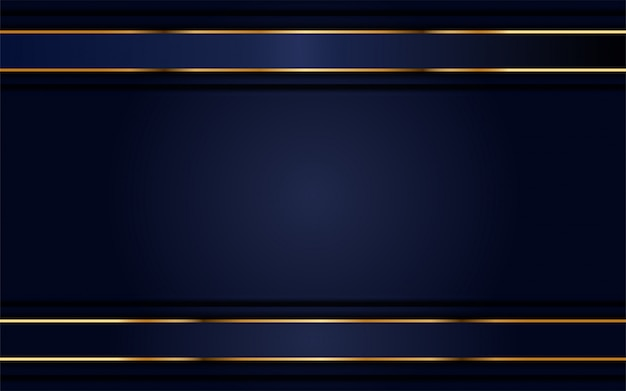 Modern navy background with light golden lines