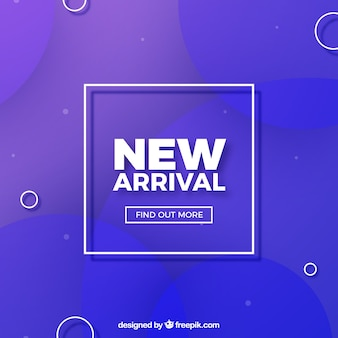 Modern new arrival background