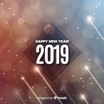 Современный новый год с элегантным стилем