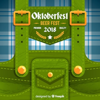Modern oktoberfest background