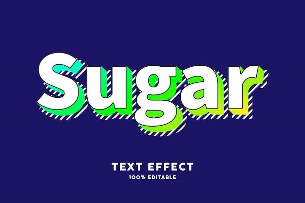 Modern old retro pop art text effect