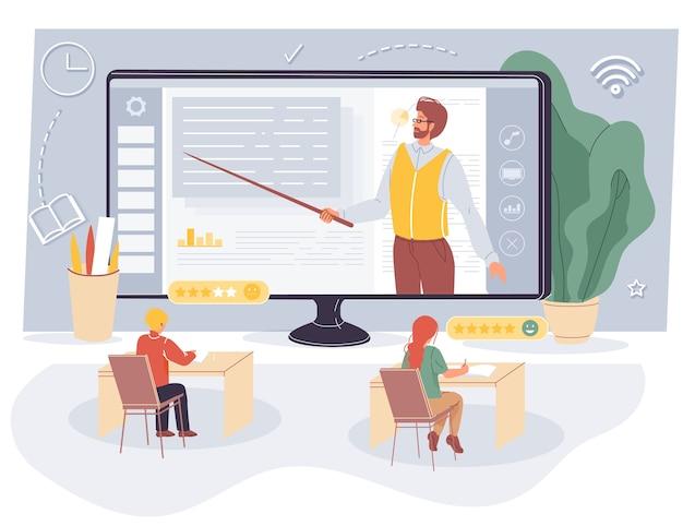 Современный онлайн-образовательный процесс в виртуальном классе