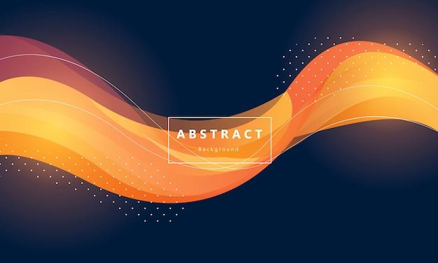 Modern orange gradient background